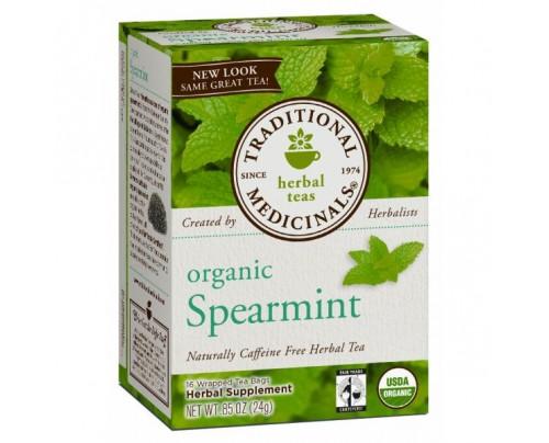 Traditional Medicinals Organic Spearmint Tea 16 Teabags