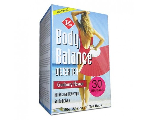 Uncle Lee's Body Slim Balance Cranberry Dieter Tea 30 Tea Bags