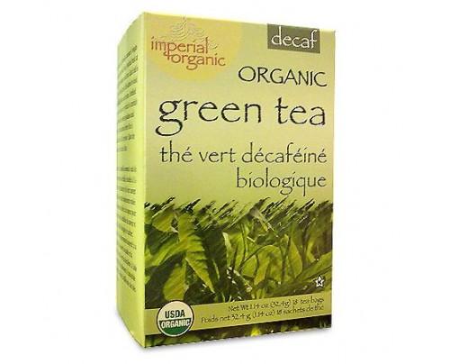 Uncle Lee's Imperial Organic Green Tea Decaffeinated 18 Tea Bags