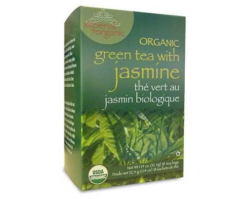 Uncle Lee's Imperial Organic Green Tea with Jasmine 18 Tea Bags