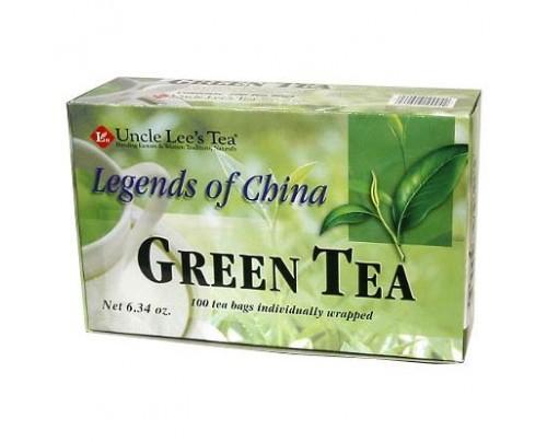 Uncle Lee's Legends of China Organic Green Tea 100 Tea Bags