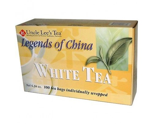 Uncle Lee's Legends of China White Tea 100 Tea Bags