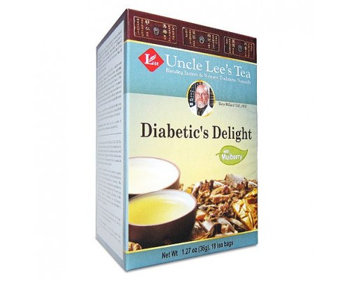 Uncle Lee's Medicinal Diabetic's Delight Tea 18 Tea Bags