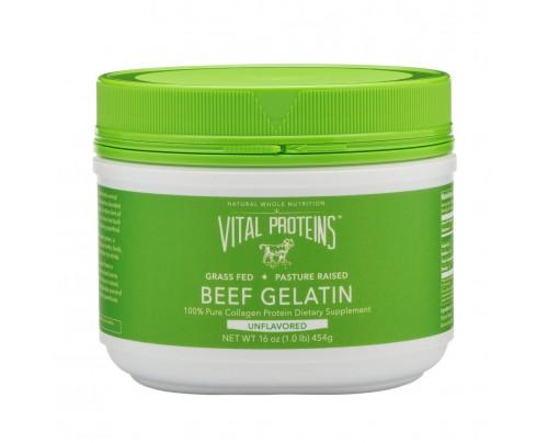 Vital Proteins Beef Gelatin Grass-Fed Pasture-Raised Unflavored 16 oz.