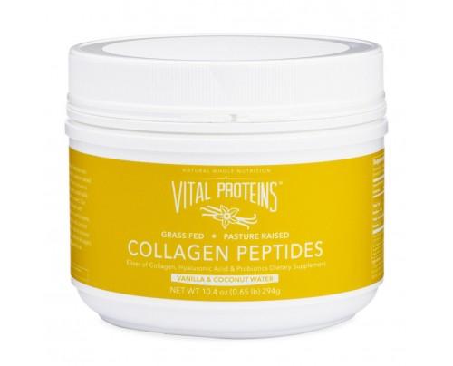 Vital Proteins Collagen Peptides Grass-Fed Pasture-Raised Vanilla Coconut 10.4 oz.