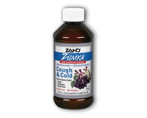 Zand Zumka Cough & Cold With Elderberry Cough Syrup 8oz.