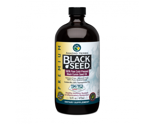 Amazing Herbs Premium Black Seed Oil 16 fl. oz.
