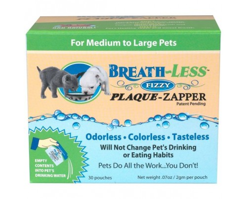 Ark Naturals Breath-Less Fizzy Plaque Zapper Enzymes for Pets 100 mg Packet