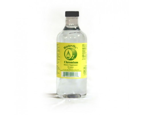 WaterOz Chromium Ionic Mineral Water 50 ppm