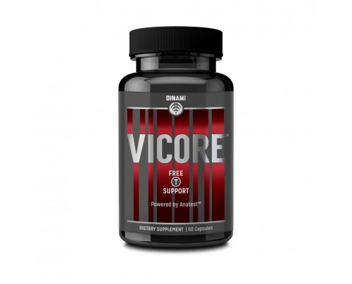 Dinami Supplements Vicore Testosterone Booster 60 Capsules
