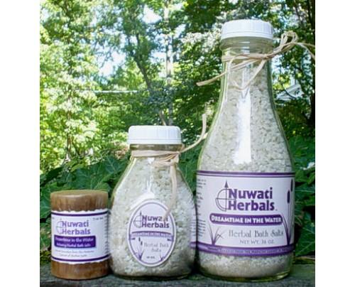 Nuwati Herbals Dreamtime in the Water Bath Salt