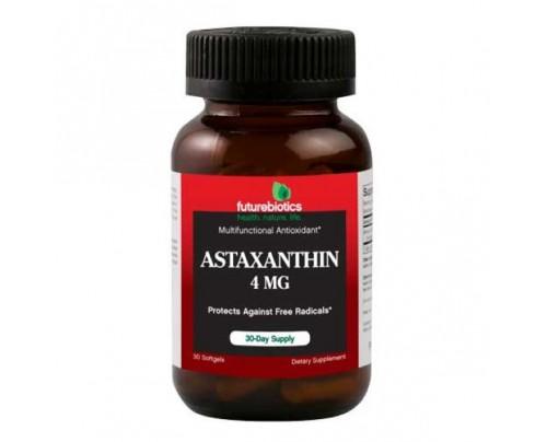 Futurebiotics Astaxanthin 4 mg 30 Softgels
