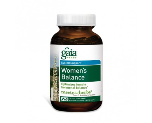 Gaia Herbs Women's Balance formerly Phyto Estrogen 60 Capsules