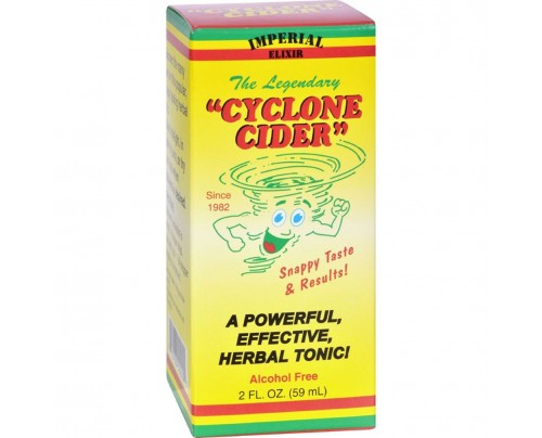 Ginco Imperial Elixir Cyclone Cider Herbal Tonic 2 fl. oz.