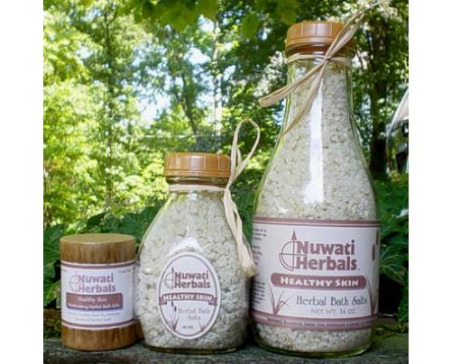 Nuwati Herbals Healthy Skin Bath Salt 4oz.
