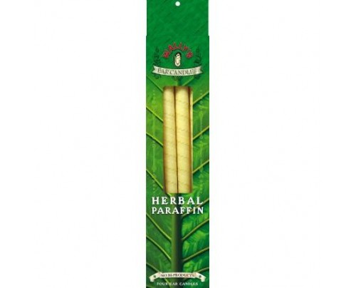 Wally's Natural Products Herbal Paraffin Ear Candles