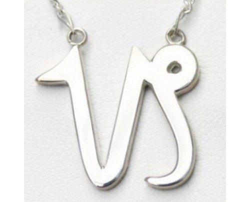 Earth Solutions Capricorn Pendant, Sterling Silver