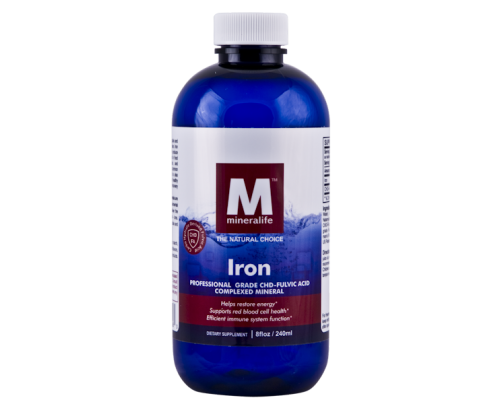 Mineralife Iron Angstrom Ionic Mineral Water 8 fl. oz.