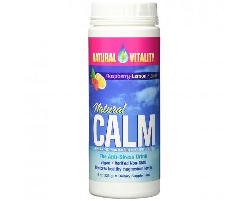 Natural Vitality Natural Calm Anti-Stress Drink Lemon 8 oz.