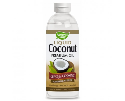 Nature's Way Coconut Oil Premium Liquid 20 fl. oz.