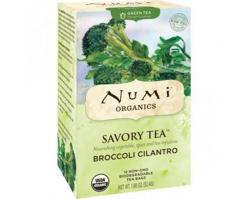 Numi Organic Tea Broccoli Cilantro Tea 12 Tea Bags