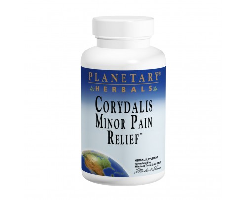 Planetary Herbals Corydalis Minor Pain Relief with Humulex 750 mg Tablets
