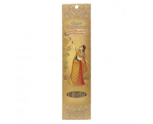 Prabhuji's Gifts Stick Incense Stick Incense Ragini Madhumadhavi Bliss Tulasi, Sandalwood & Citronella 10 Sticks