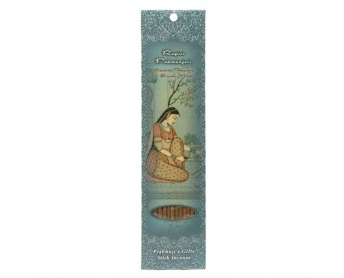 Prabhuji's Gifts Stick Incense Ragini Padmanjari Relaxation Seaside Flowers, Sweet Musk & Vanilla 10 Sticks