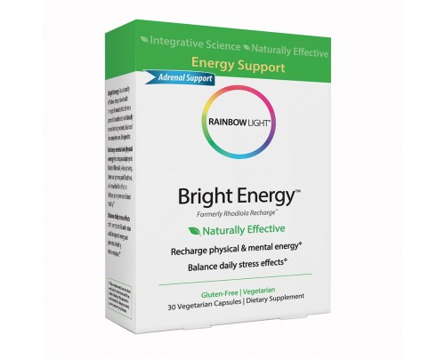 Rainbow Light Bright Energy 30 Vegetarian Capsules