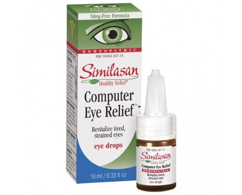 Similasan Computer Eye Strain Relief Drops