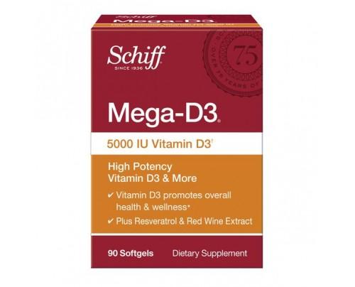 Schiff Foods / Bio Foods Mega-D3 Vitamin D3 5,000 IU