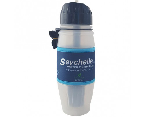 Seychelle Environmental Technologies Extreme Radiation, Biological, Chemical Water Filter Bottle 28 fl. oz.
