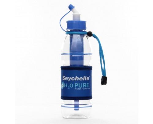 Seychelle pH2O PURWATER Alkaline Water Filter Sports Bottle Blue 20 fl. oz.