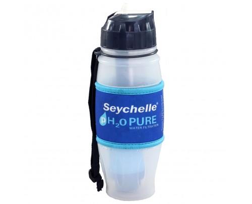 Seychelle pH2O Purewater Fliptop Alkaline Water Filter Bottle 28 fl. oz.