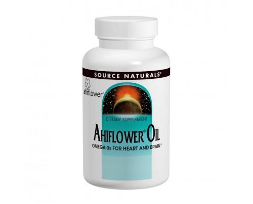 Source Naturals Ahiflower Oil 30 Vegetarian Softgels