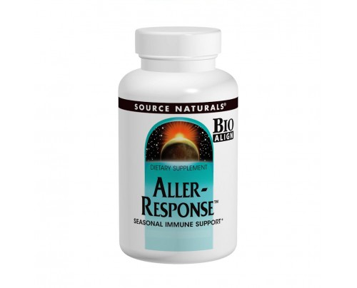 Source Naturals Aller-Response Seasonal Immune Support 45 Tablets