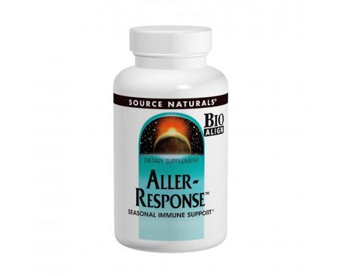 Source Naturals Aller-Response Seasonal Immune Support 90 Tablets