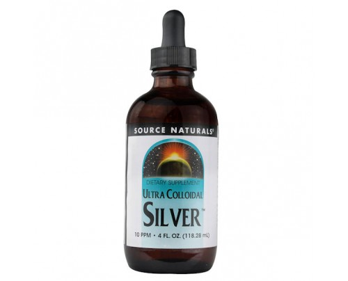 Source Naturals Ultra Colloidal Silver 10 ppm 4 fl. oz.