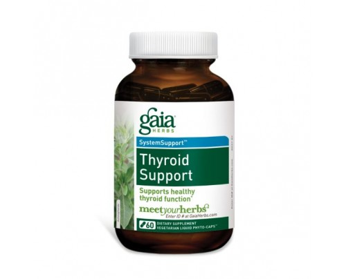 Gaia Herbs Thyroid Support Phyto-Caps Capsules