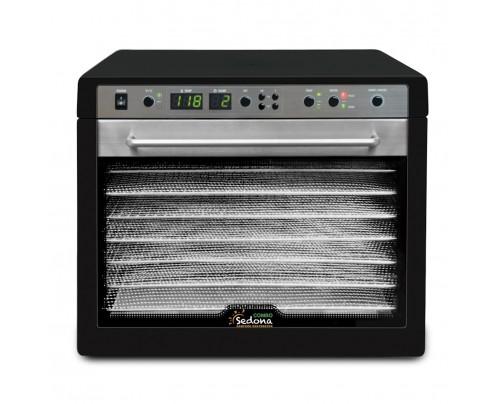 Tribest Sedona Combo Rawfood Dehydrator SD-S9150 Black with Stainless Steel Trays