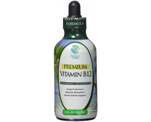 Tropical Oasis Vitamin B-12 Methylcobalamin Liquid 4 fl. oz.