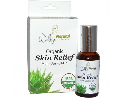 Wally's Natural Products Organic Skin Relief Roll-On 1 fl. oz.