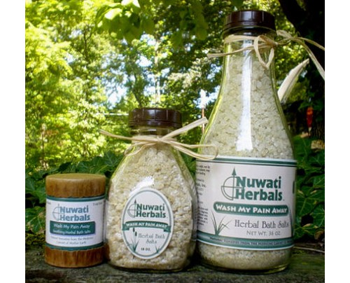 Nuwati Herbals Wash My Pain Away Bath Salt