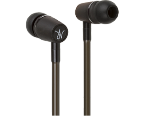 RF3 Headsets LIVE-JV1 Hands-Free Headset Cell Phone Air Tube Wood Stereo Earbud