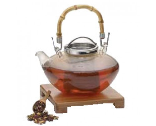 BonJour Teapot Zen Glass 42oz. / 1.2 Liter