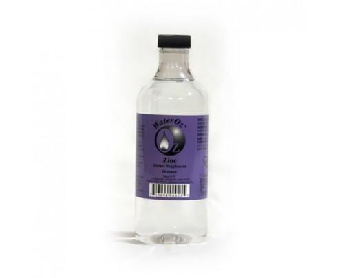 WaterOz Zinc Ionic Mineral Water 100 ppm