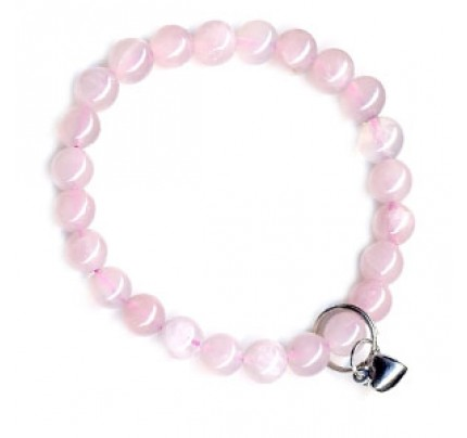 Art Of Luck Rose Quartz - Love & Friendship Bracelet