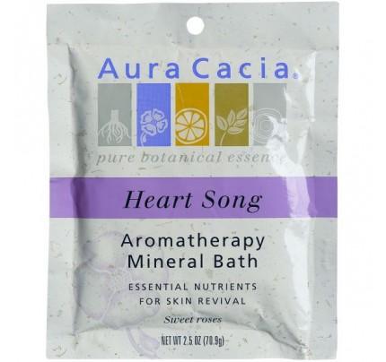 Mineral Bath Salts Heartsong 2.5oz.