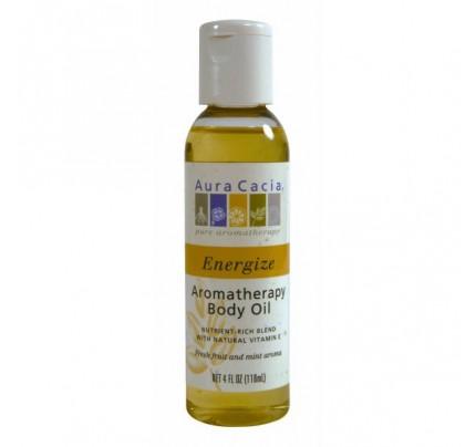Bath & Massage Oil Energize 4oz.