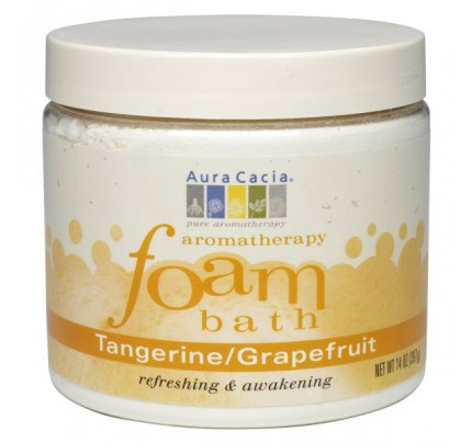 Aromatherapy Foam Bath Tangerine & Grapefruit 14oz.